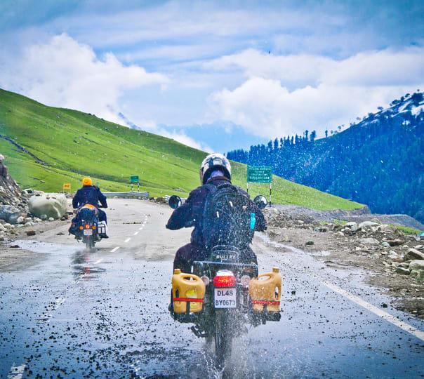 Manali Leh Manali Bike Trip from Delhi