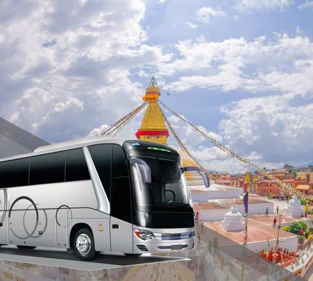Shared Bus Transfers from Kathmandu to Pokhara - Flat 15% off