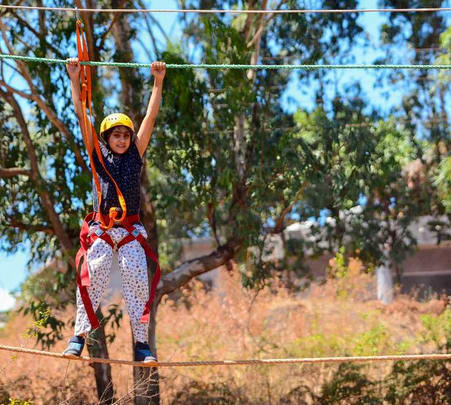 Multi Adventure Day Outing near Pune Flat 31% off