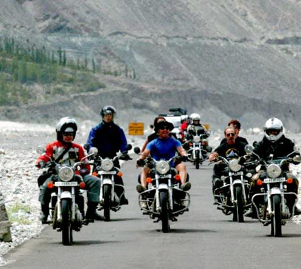 Delhi - Srinagar - Leh - Manali - Delhi - Bike Tour