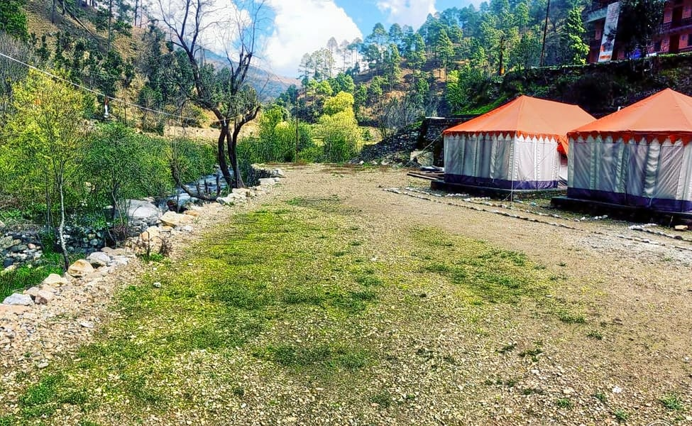 New Year & Christmas Special Village Camping Near Mussoorie
