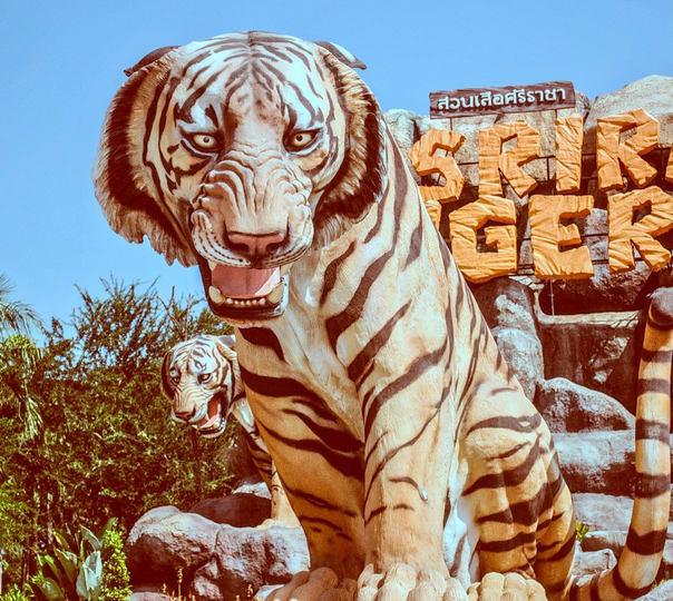 Day Tour to Sriracha Tiger Zoo in Pattaya