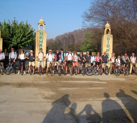 Wildlife Bicycle Tour in Jaipur, Rajasthan