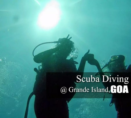 Scuba Diving at Grande Island in Goa- Flat 40% off