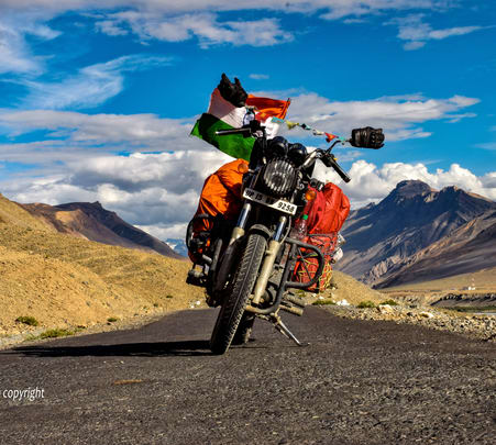 Leh Ladakh Bike Trip Package from Delhi