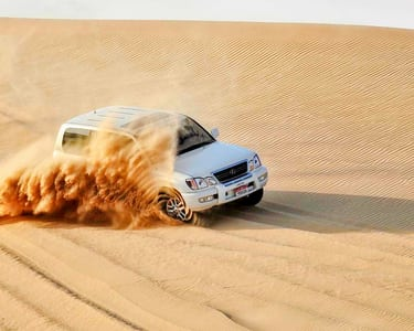 Morning Desert Safari Abu Dhabi Flat 20% off