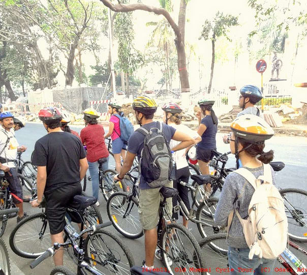 City Cycling Ride in South Mumbai