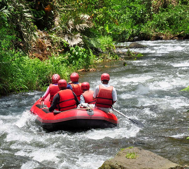 Full Day Cycling and Rafting Tour in Bali
