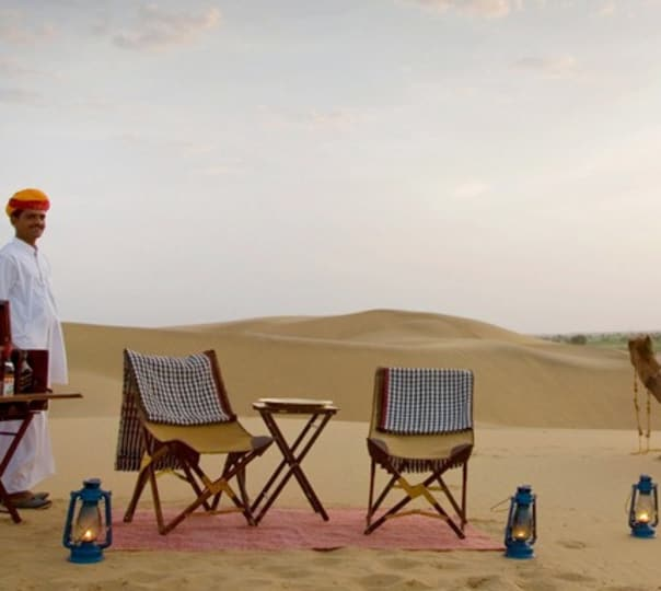 Royal Desert Stay at The Serai Jaisalmer, Rajasthan