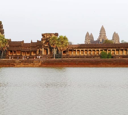 Cycling Tour to Angkor Temples in Cambodia