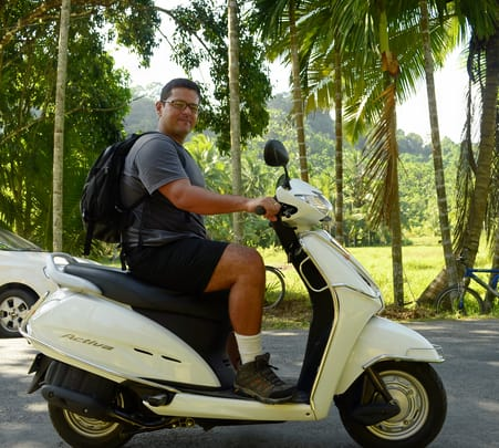 Rent a Scooty in Rishikesh