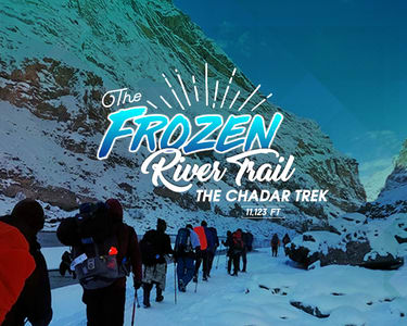 Chadar Trek 2020, Ladakh - Frozen River Trek, Book @ ₹19,500