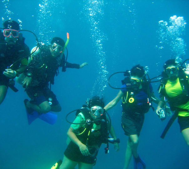 Advanced Scuba Diving Course at Grande Island in Goa