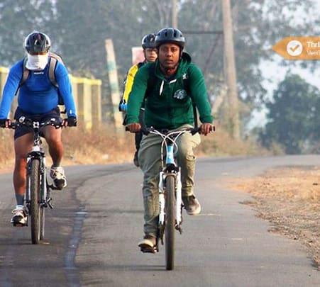 2 Days Cycling Trip To Hogenakkal Falls