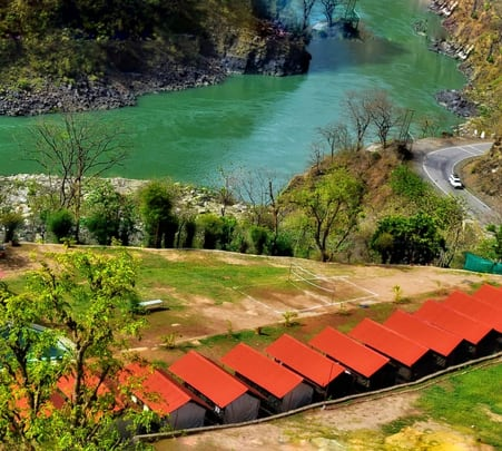 Camping and Trekking in Rishikesh With Rafting and Cliff Jumping Combo Flat 15% Off