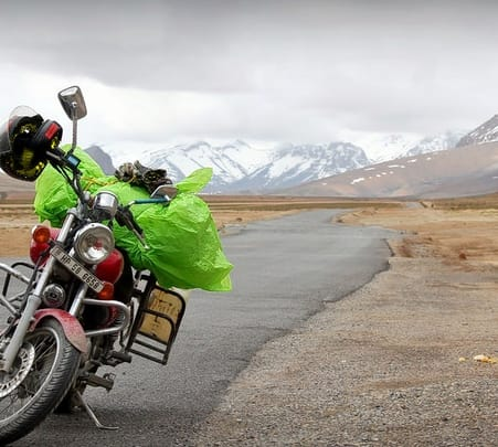 Manali to Leh Motorcycle Trip
