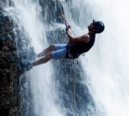 Water Rock Climbing