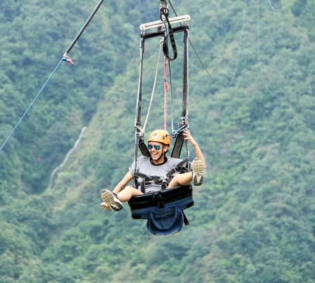 Zip Flying in Nepal