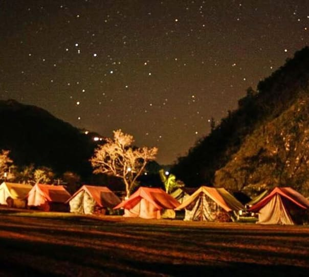 Camping at Maldevta Farms,Dehradun