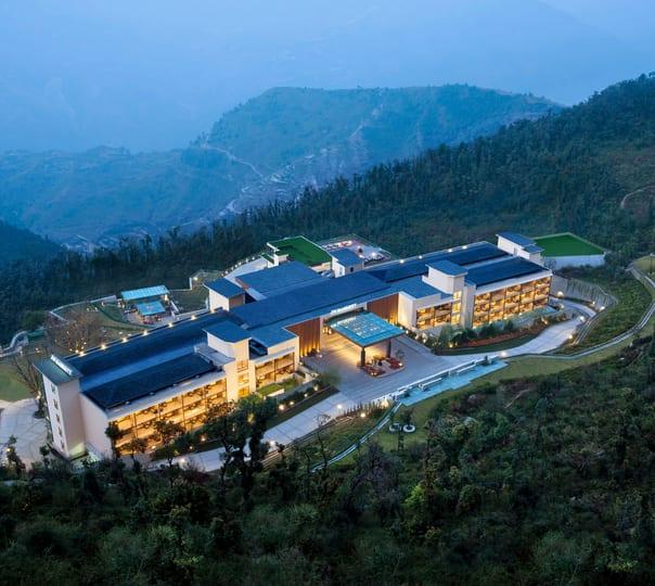 Family Getaway at Jw Marriott Mussoorie Walnut Grove Resort and Spa