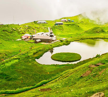 Prashar Lake Trek with Camping, Himachal | Book @ ₹2500 Only!