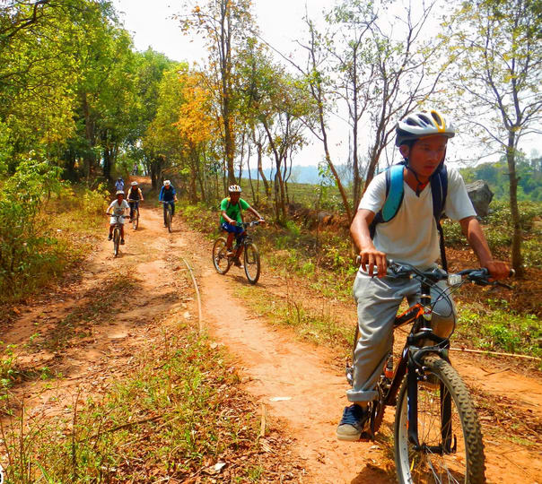 Mountain Biking at Sohilya Village
