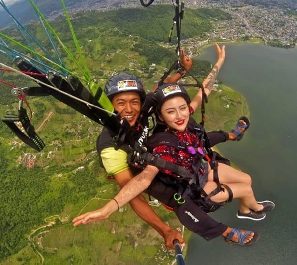 Experience Paragliding in Sarangkot