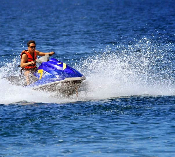 Jet Ski Ride at Marine Park