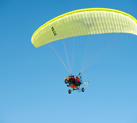 Motorized Paragliding in Gurgaon