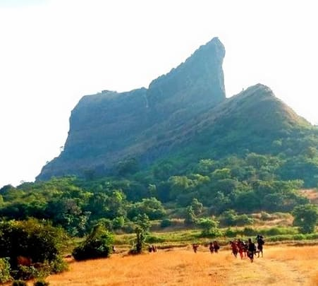 Trek to Ghangad and Tailbaila Forts, Lonavala