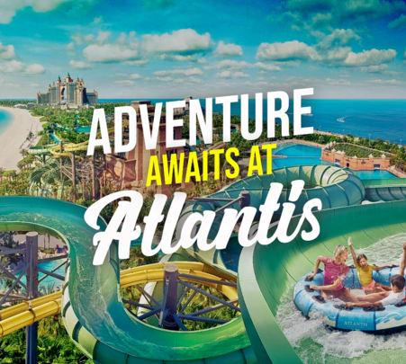 Atlantis Aquaventure in Dubai - Flat 10% off