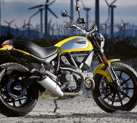 Rent a Ducati Scrambler in Mumbai