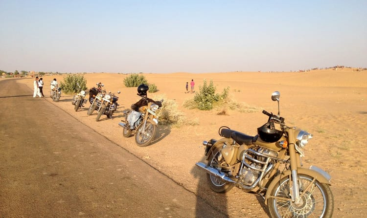 Jaipur-Jodhpur-Jaisalmer Motorcycle Expedition