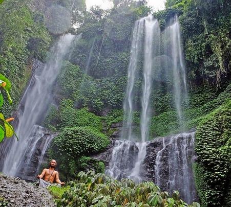 Sekumpul Waterfall Trek in Bali