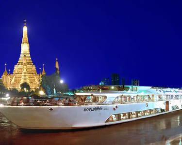 Ayutthaya Sightseeing Tour and Cruise in Bangkok