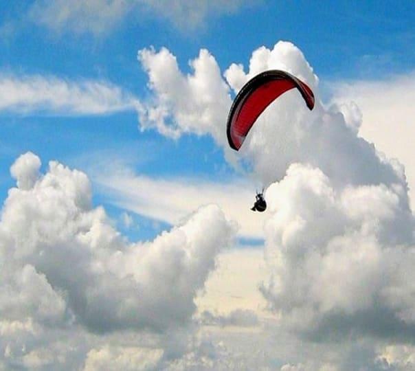 Acrobatics Paragliding In Kamshet