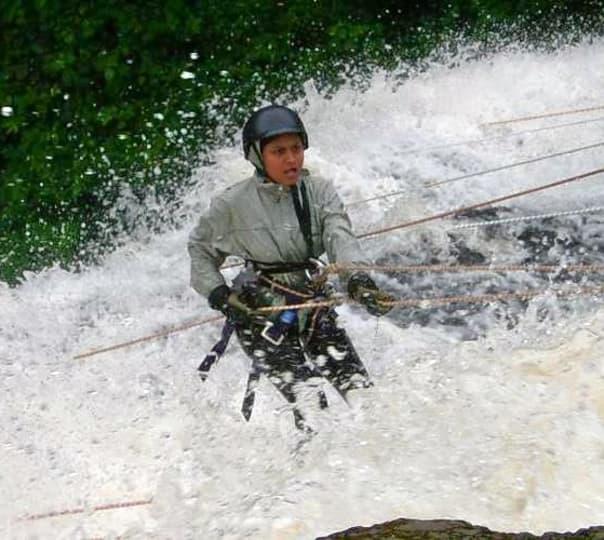 Waterfall Rappelling Experience in Diksal