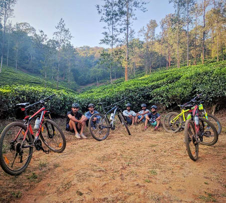 Cycling, Camping, Bamboo Rafting and Trekking