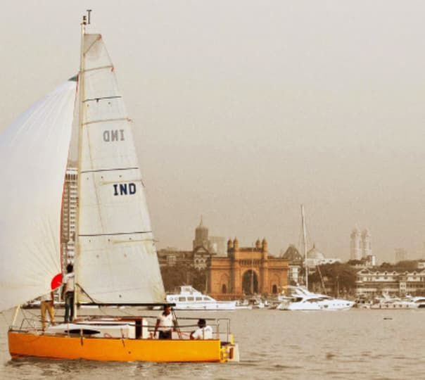 Romantic Sailing on Valentine's Day in Mumbai