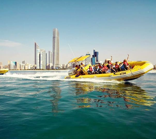 Speed Boat Ride in Abu Dhabi
