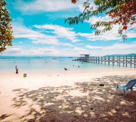 Sepanggar Island Day Tour, Sabah @ Flat 19% off