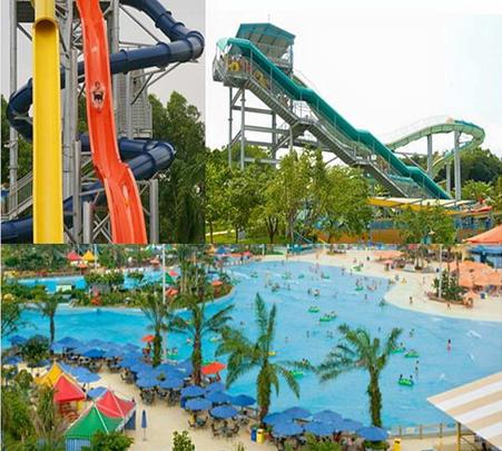A'famosa Theme Park Safari in Malaysia