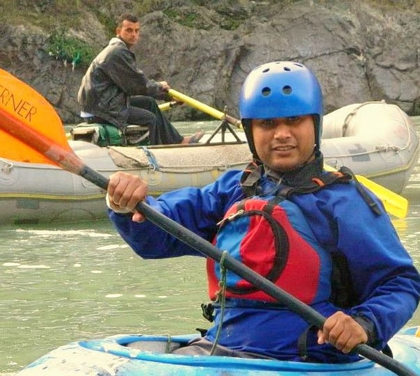 Rafting with Green Mount Adventure in Rishikesh