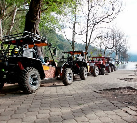 Rainforest Walk, Atv and Canoeing in Bali
