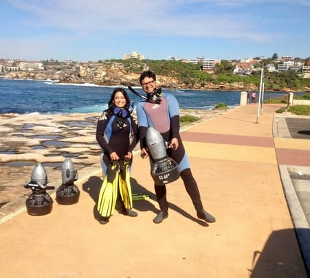 Underwater Scooter Tour at Watson's Bay in Sydney