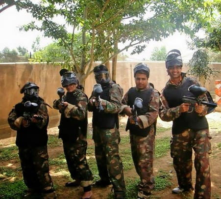 One Day Paintball Adventure in Chennai