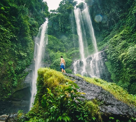 Tukad Cepung Waterfall Tour- Flat 10% off