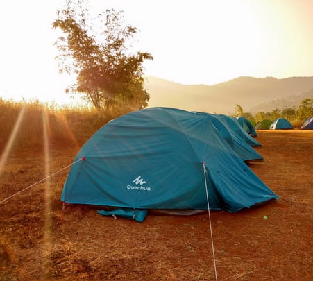 Camping in Velhe near Pune, with Raigad Trek Flat 36% off