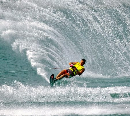 Water Ski in Tanjung Benoa at Bali