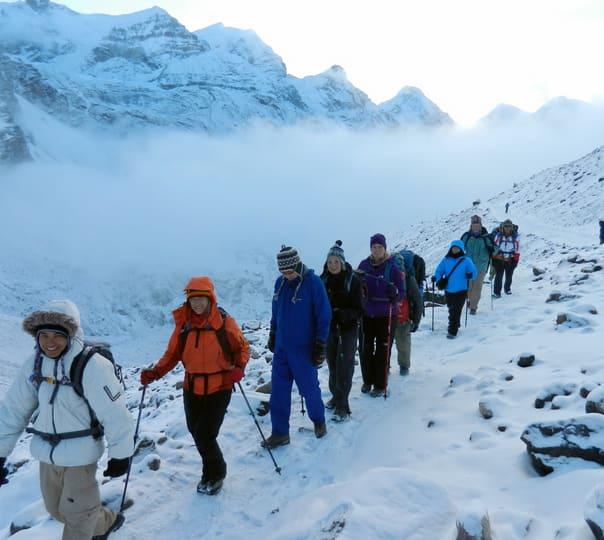 13 Days Trek at Naya Kanga Peak in Nepal